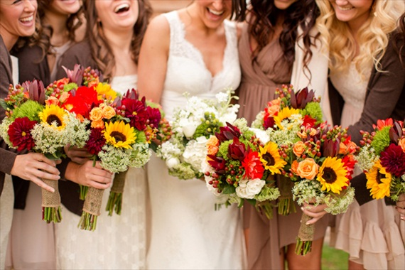 yellow-orange-bouquets