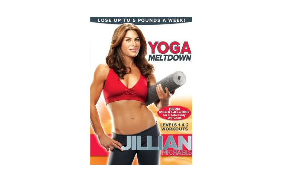 Top 20 Fitness Accessories (via EmmalineBride.com): #6 Jillian Michaels' Yoga Meltdown DVD