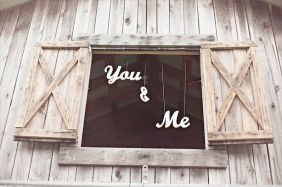 you and me barn wedding