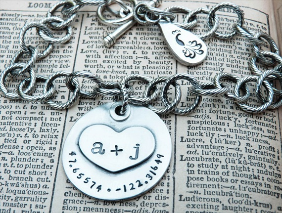 You and Me Bracelet (by The Pretty Peacock)